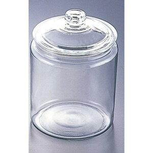 アメリカ製 キッチンポット 保存容器 乾物 米びつ アンカーホッキング ストレートジャー 49918 7.6L 食品保存容器 料理道具 ソーダガラス 業務用 8-0240-0804