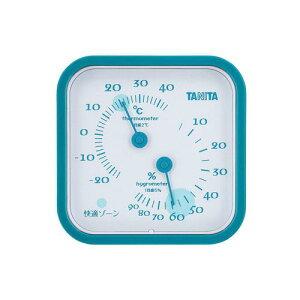 温湿度計 TT-557 ブルー 温度計