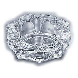 日本製 箸立 楊枝入 ナプキン立 灰皿等 ガラス製 ローラー灰皿 P-05533 灰皿 卓上備品 ソーダガラス 業務用 8-1963-0302
