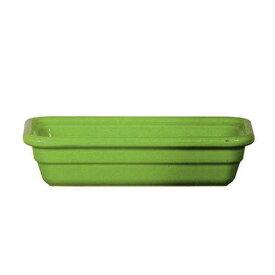 Emile Henry エミール・アンリ レクトン N1/33463グリーン ビュッフェ用大皿(洋食器)
