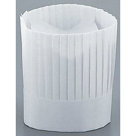 MATFER マトファ シェフハット(紙製10枚入) 760301(H22.5cm) コック帽