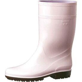 MIDORIANZE ミドリ安全ハイグリップ長靴HG2000N 24.5cmピンク 長靴