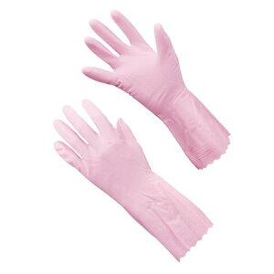 手袋 ショーワ ビニトップ 薄手手袋 No.130 Mピンク ゴム手袋 長靴・白衣 塩化ビニール 業務用 8-1422-0702