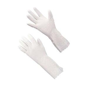 手袋 ショーワ ビニトップ 薄手手袋 No.130 Lホワイト ゴム手袋 長靴・白衣 塩化ビニール 業務用 8-1422-0705