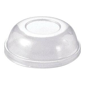 使い捨てモルド カップ ラッピング カールカップ用PET蓋(100枚入) F-CR02 マフィン型 製菓用品 ポリエチレンテレフタレート 業務用 7-1060-1601