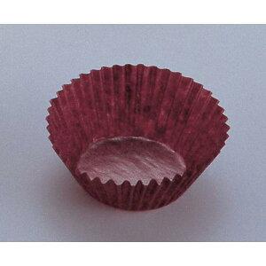 日本製 使い捨てモルド カップ ラッピング 茶グラシンケース(1000枚入) 6号深 グラシン紙 製菓用品 茶グラシン 業務用 7-1061-3001
