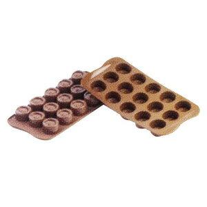 イタリア製 チョコレート用品 ハケ ゴムヘラ siliko mart チョコレートモルド ヴェルティゴSCG04 製菓用品 シリコン 業務用 7-0987-0401