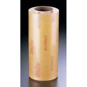 日本製 包装機械 シーラー 信越 ポリマラップR(1ケース2本入) R400幅40cm×750m巻 消耗品 塩化ビニル樹脂 業務用 8-1486-1004