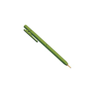 レジ周り 事務用品 バーキンタ ボールペン エコ102 赤インク緑66214901 店舗備品 業務用 8-2553-1005