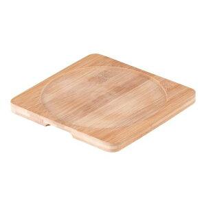フライパン グリルパン 鉄鋳物 スキレット丸型用敷き板 4039 19×19cm 料理道具 業務用 8-0071-0503