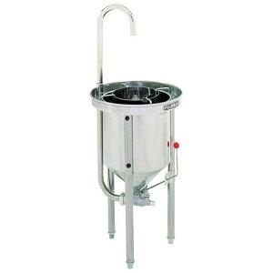 ボール ザル 漬物 米びつ 水圧洗米器 FRW15W 料理道具 業務用 8-0279-0301