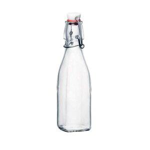 イタリア製 泡立 水マス 調味料入 ロート スイング ボトル 0.25L 3.14730(03602) 調理小物 ガラス 業務用 8-0239-0301