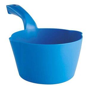 スポンジ タワシ ブラシ ヴァイカン ラウンドスコップ 5681 ブルー 清掃用品 業務用 8-1252-1105