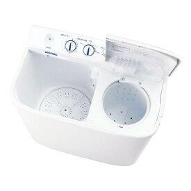 ふきん タオル 洗濯機 ハイアール 4.5kg 2槽式洗濯機 JW−W45E(W) 清掃用品 業務用 8-1284-0201