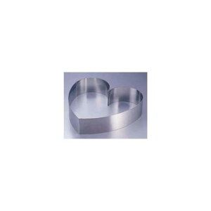 日本製 ウェディング用品 ランプ キャンドル SA18−8 ウェディングケーキ用リング ハート 中 バンケットウェア 18-8ステンレス 業務用 7-1648-1902