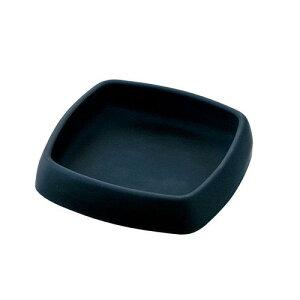 日本製 箸立 楊枝入 ナプキン立 灰皿等 灰皿 44069BK 卓上備品 ソーダガラス 業務用 8-1963-0701