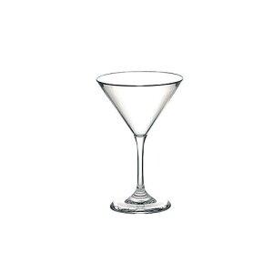 イタリア製 洋食器 コーヒー ティーカップ グッチーニ カクテルグラス 2345.01 クリアー グラス・食器 AS(アクリロニトリルスチレン)樹脂 業務用 8-1852-1701