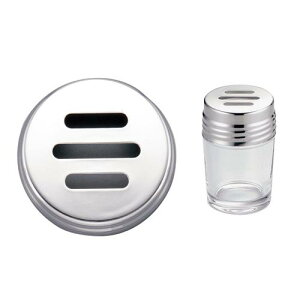 泡立 水マス 調味料入 ロート TKGガラス調味料入 2ozハーブ 調理小物 業務用 8-0490-0111