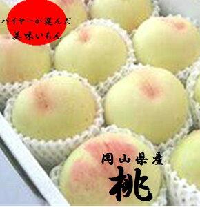 岡山県産 上品な甘みとち密な肉質と豊富な果汁 「岡山の桃」進物用 大玉1箱1.5kg(3〜6玉)
