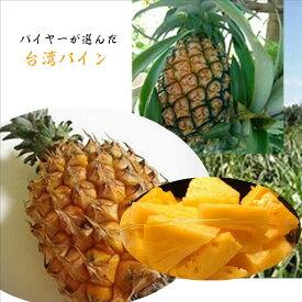 台湾産 パイン お試し 1本(1kg前後)※出荷時期により品種が異なります。なお簡易箱でのお届けとなります。