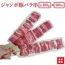 【送料無料】『箱買いでお得!ジャンボ豚バラ串100gが100本(10本×10袋)』業務用にBBQにお祭りに学園祭に豚串は人気…