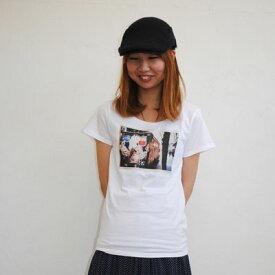 """【CREVASSE クルバス 公式通販】Photo Print レディースフォトプリントTシャツ """"coca"""""""
