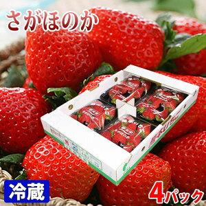 熊本県産いちご さがほのか 4パック