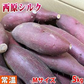 熊本県産 さつまいも シルクスイート 秀品 Mサイズ(26〜28本入り)5kg