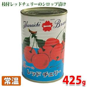 花一 レッドチェリー(枝付) 425g(固形量230g)
