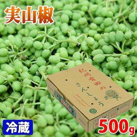 和歌山県産 実山椒 500g