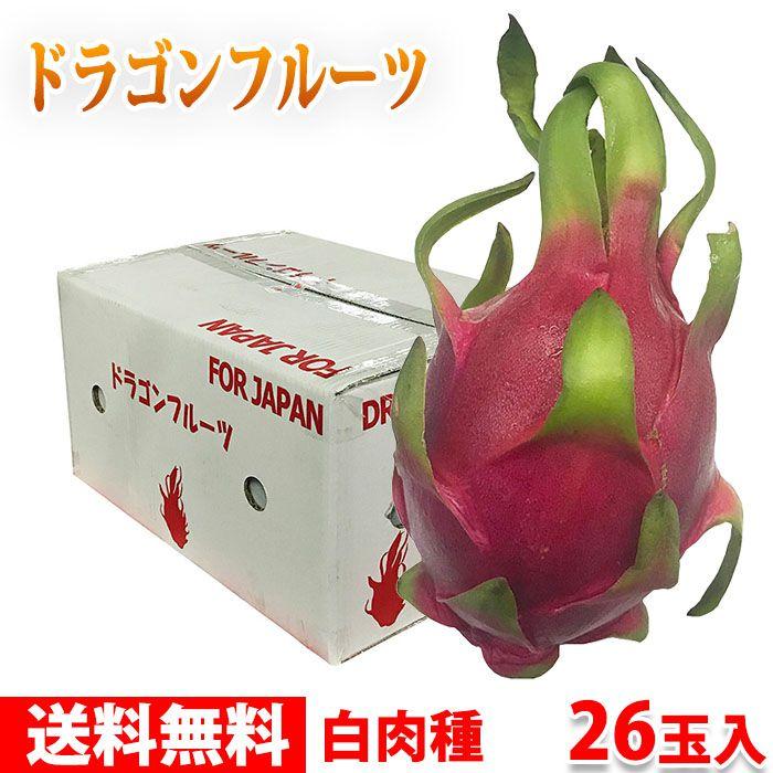 【送料無料】ベトナム産 ドラゴンフルーツ 13玉〜16玉入り(1箱)
