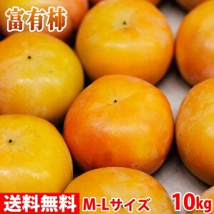 【送料無料】奈良県産 富有柿 秀品・2L(約36玉入り)10kg箱