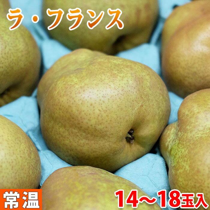 山形県産 ラ・フランス 14〜18玉入り 5kg(箱)