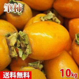 【送料無料】愛知県産 筆柿(ふでがき)秀品 L〜3Lサイズ 7.5kg箱