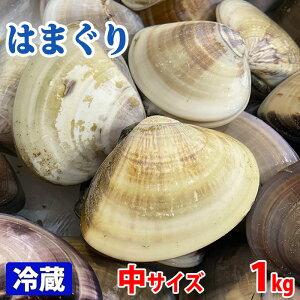 千葉県産 はまぐり(蛤) 中サイズ 約1kg