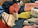 【手織りはぎれ】300gセット(手紡ぎ、草木染、手織り)ハギレ定形外便送料無料、(代金引換不可)コットン