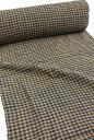 格子綿生地 品番、XAR-11/BL(1503) 幅65cm(手紡ぎ、草木染の手織り布)格子チェックコットン【ウドムサイの布】
