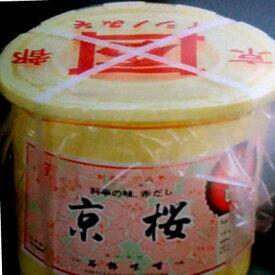 石野味噌 京桜味噌 4kg×4樽×1箱(計16kg) 赤だし 業務用◇【お取り寄せ品】