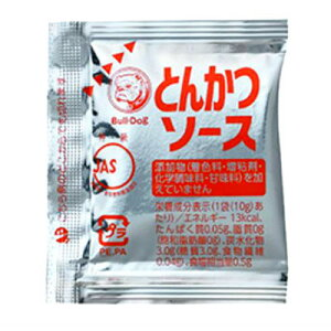 ブルドック とんかつソース アルミ小袋 10g×100個×6袋×2箱(計1200個) 無添加 業務用☆