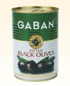 ブラックオリーブ種抜 4号缶×6缶 GABAN 業務用☆ギャバン