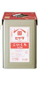 ヒゲタ 濃口醤油 18L×1缶 JAS特級 業務用☆