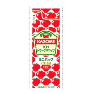 カゴメ トマトケチャップミニパック 12g×40個×6袋(計240個) テイクアウト 弁当 給食 用 小袋 ケチャップ 業務用◇
