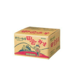 神州一味噌 田舎みそ 10kg×1箱 業務用◆宮坂醸造 【お取り寄せ品:発送までお時間がかかる場合がございます】