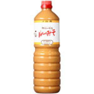 神州一 ルーみそ(液体味噌) 白 1.1kgボトル×6本×1箱