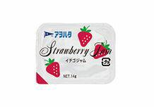 アヲハタ イチゴジャム 14g給食用サイズ 360個×1箱【お取り寄せ品】