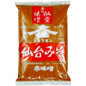 仙台みそ 1kg×2袋(計2kg) 赤みそ こしタイプ 仙台味噌醤油 業務用◆ジョウセン