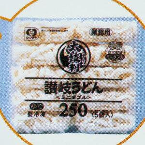 シマダヤ 「太鼓判」讃岐うどん(冷凍) 250g×40食×1箱 業務用◇ミニダブル