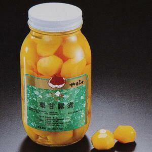栗甘露煮 2ポンド瓶×12本×1箱 【お取り寄せ品】業務用☆山福