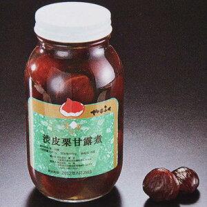 山福 渋皮栗甘露煮 M中サイズ 2ポンド瓶×2本 業務用 【お取り寄せ品】