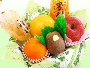 【送料込】ゼリーが選べる!プチフルーツセット【果物】【詰め合わせ】【法事】【お見舞い】【お祝い】【彼岸】